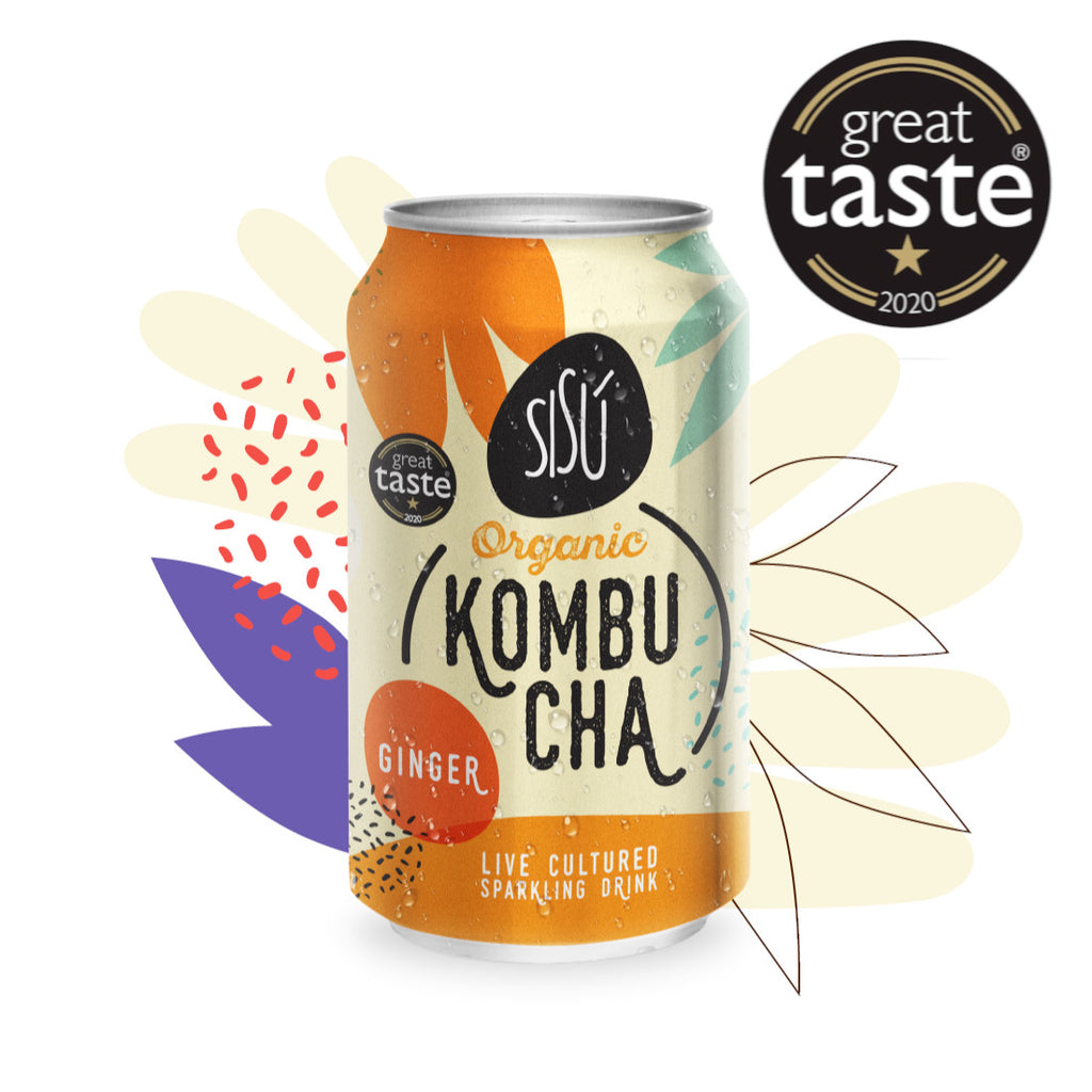 Organic Kombucha           Ginger cans               12x330ml