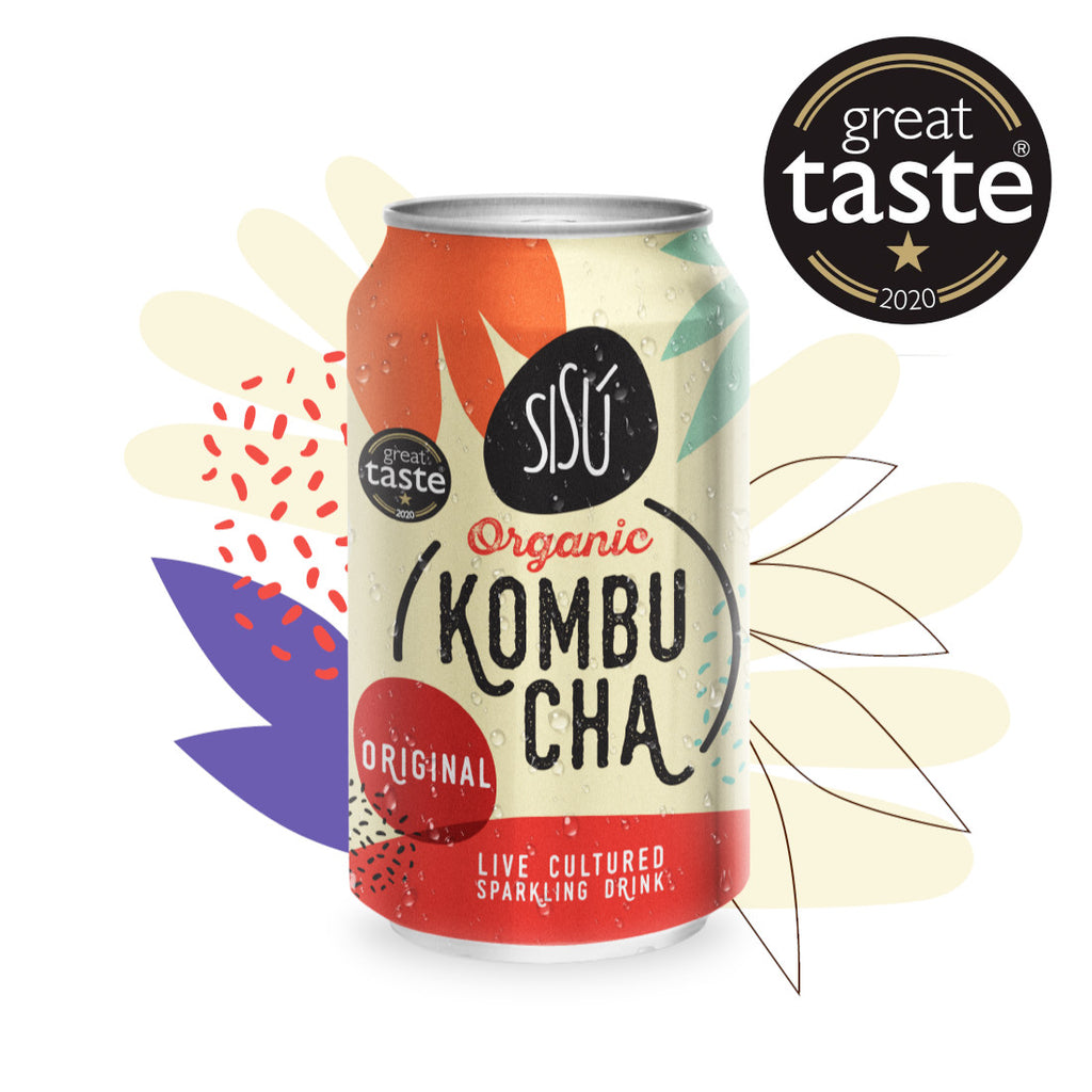 Organic Kombucha           Original cans              12x330ml
