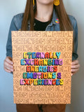 Engeries, Emotions, Experiences Poster