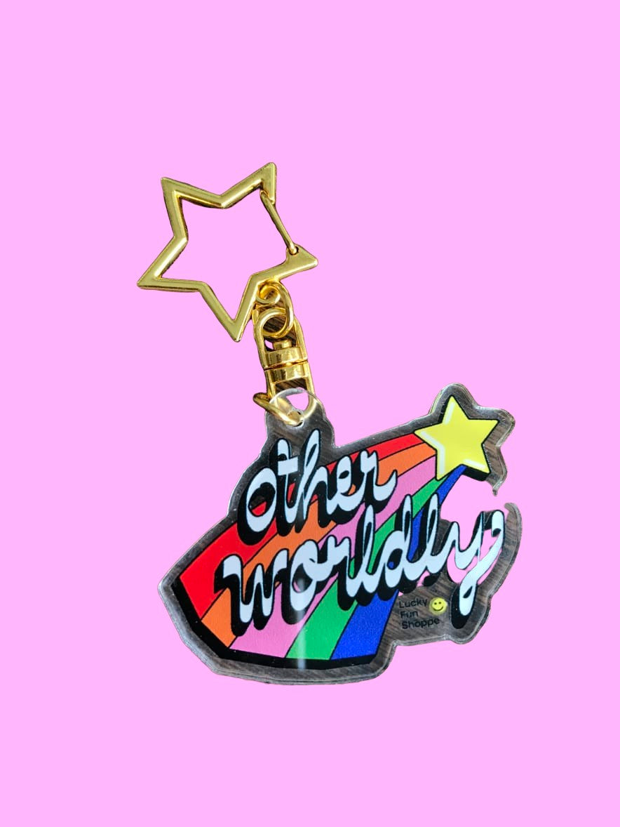 Otherworldly Star Keychain