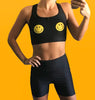 Smiley Sports Bra