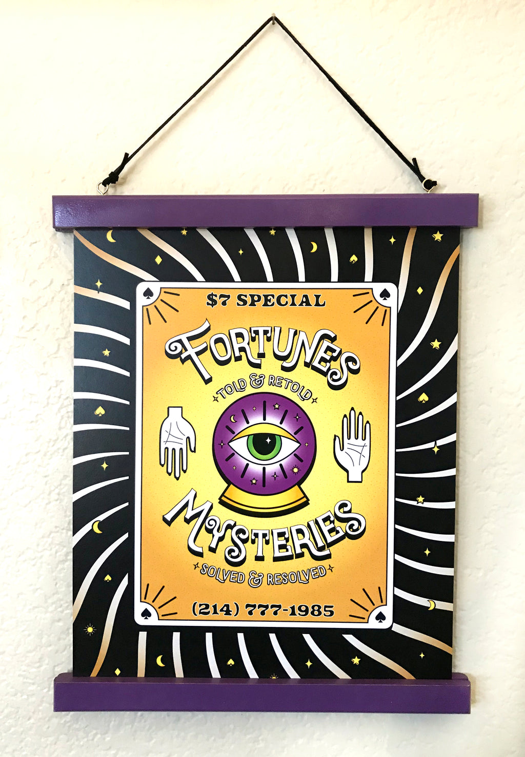 Fortunes & Mysteries Poster