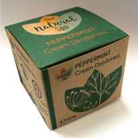 Natural Spa - Cream Deodorant - Large Jar - 2 scents available - 215g