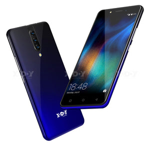"XGODY 4G Dual Sim Smartphone Android 9.0 5.5"" 18:9 HD Full Screen 2GB 16GB MTK6737 Quad Core 5MP Camera 2800mAh Mobile Phone K20"