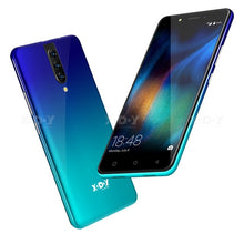 "Load image into Gallery viewer, XGODY 4G Dual Sim Smartphone Android 9.0 5.5"" 18:9 HD Full Screen 2GB 16GB MTK6737 Quad Core 5MP Camera 2800mAh Mobile Phone K20"