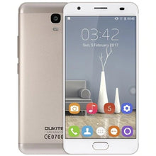 "Load image into Gallery viewer, OUKITEL K6000 Plus SmartPhone 4GB RAM 64GB ROM 5.5"" 4G LTE MTK6750T Octa Core Android 7.0 8.0MP + 16.0MP 6080mah Mobile Phone"