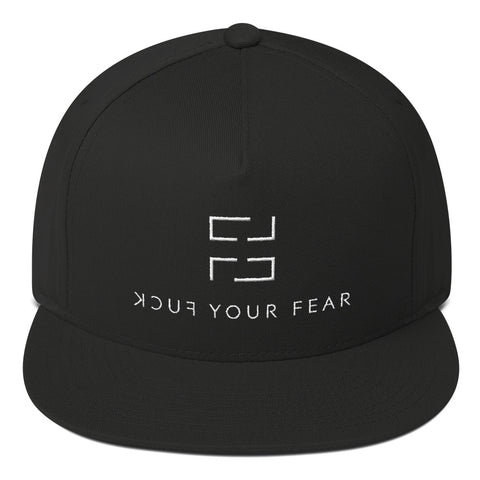 F*ck Your Fear Snapback Cap - Black - Fuck Your Fear