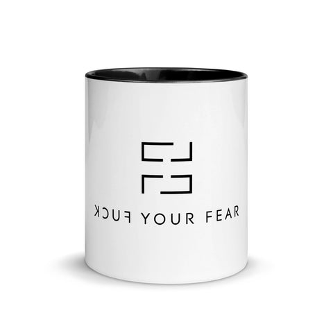F*ck Your Fear Mug - Premium Ceramic Edition