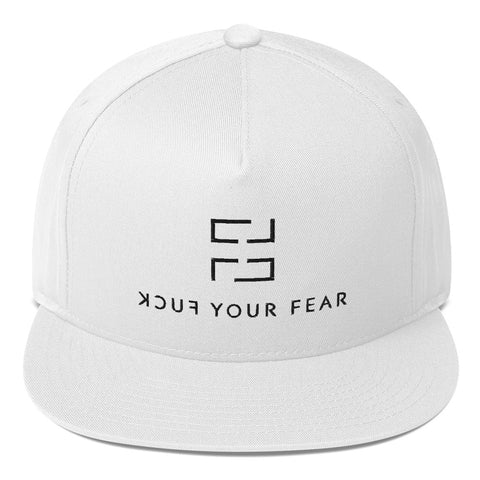 F*ck Your Fear Snapback Cap - White - Fuck Your Fear