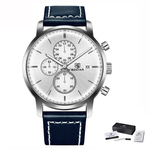 BENYAR Montre quartz Casual Business - 6 coloris