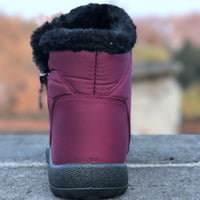 Women's winter waterproof cotton boots