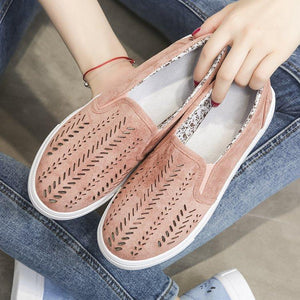 Women's Casual Hollow-out Slip On Loafers