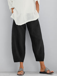 Women's Casual Loose Cotton Pants