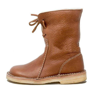 Super Soft PU Leather Boots For Women