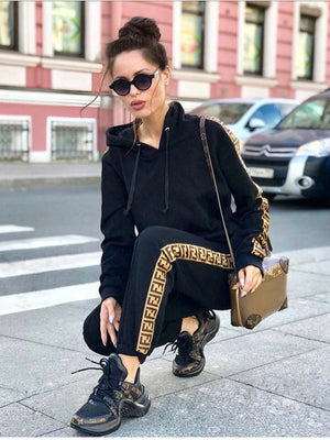 Women's Super Cool Hooded Tracksuits