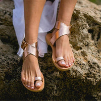 Stylish Beach Open Toe Flat Sandals