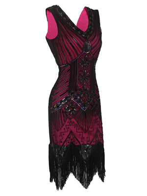 1920s Flapper Sequin Dress