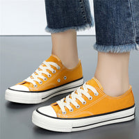 Unisex Classical Flat Heel Canvas Shoes