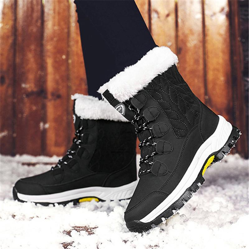 Winter Plus Size Super Warm Waterproof Snow Boots