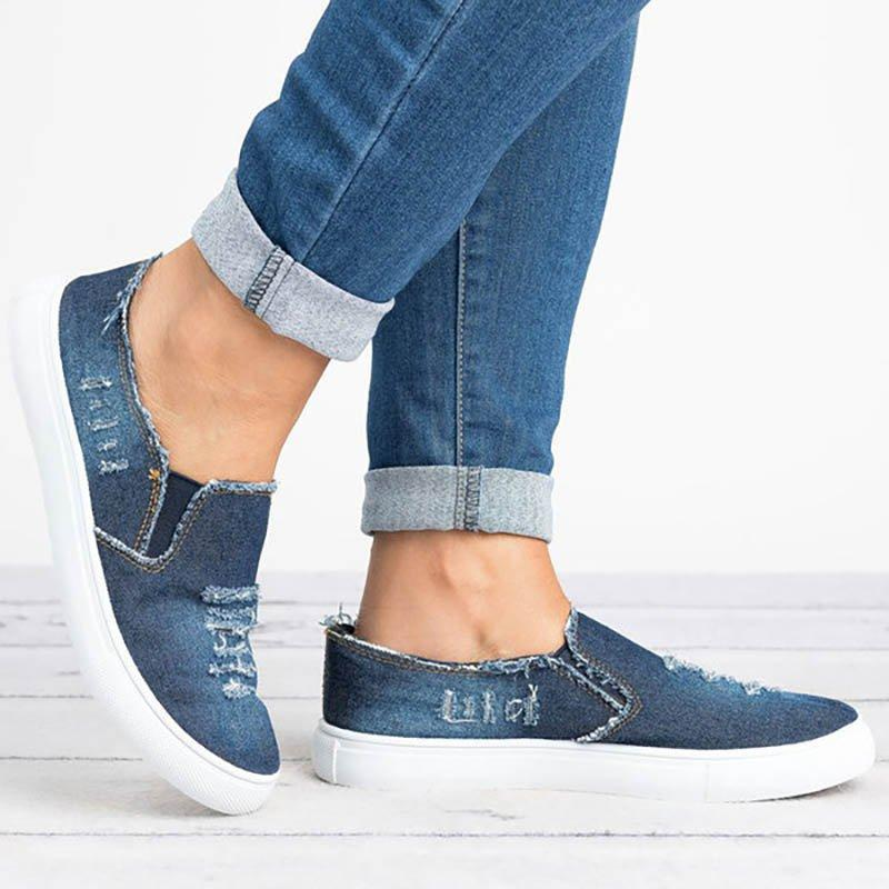 Denim All Season Casual Loafers