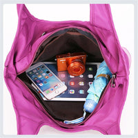 Waterproof Large Capacity Simple Shoulder Bag