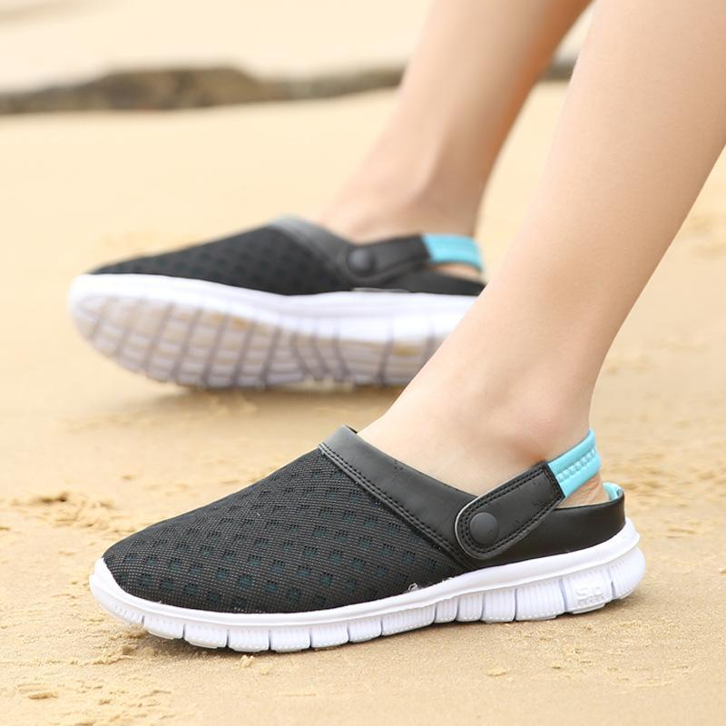 Comfy Mesh Breathable Beach Sandals Casual Slippers For Men and Women