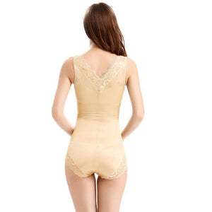 Women's Sexy Lace Tummy Control Body Shaping Bodysuit
