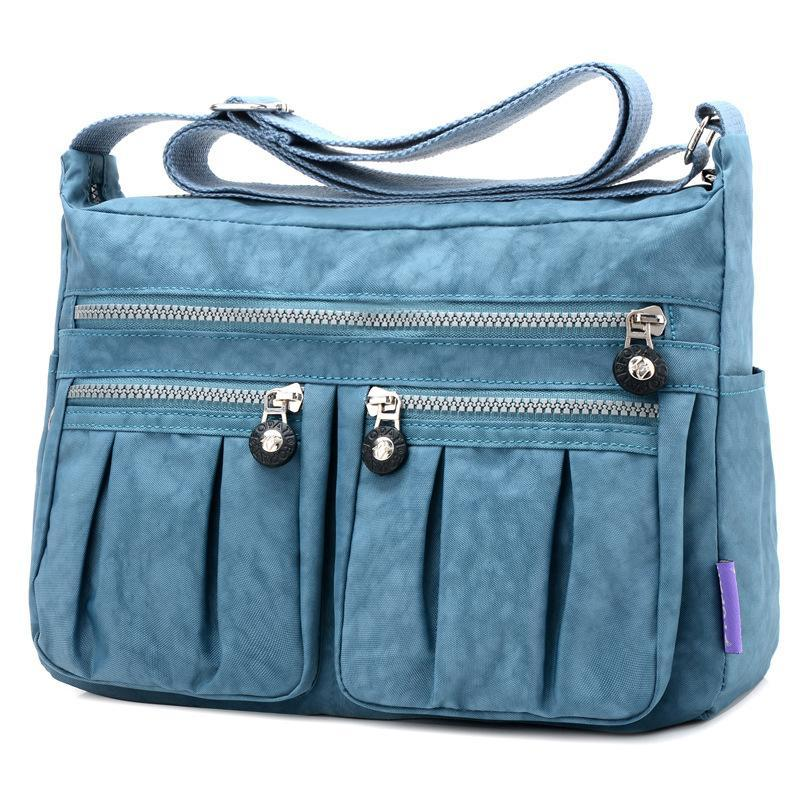 Women's Traveling Leisure Canvas Crossbody Bag