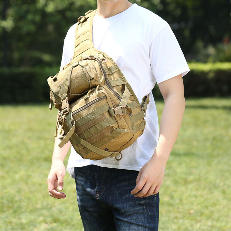 Large Capacity Outdoor Travel Waterproof Crossbody Bag