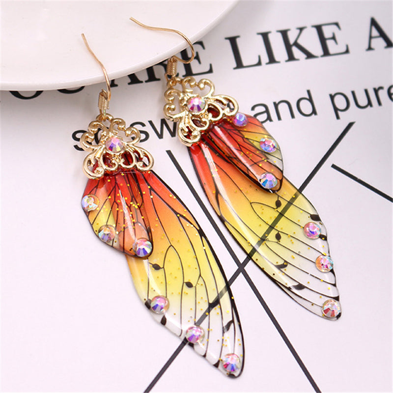 Super Pretty Cicada's Wings Dangle Earrings