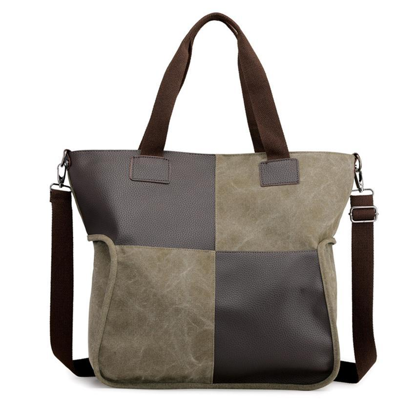 Canvas Casual Shoulder Bag Portable Messenger Bags