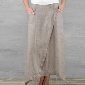 Loose Irregular High Waist Skirts