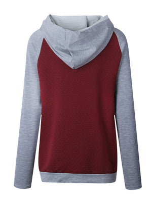 Casual Fall Pull Over Hoodie Sweatshirts