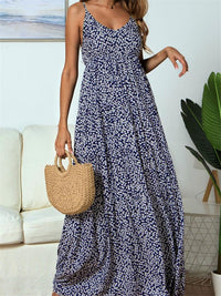 V Neck Floral Print  Summer Dress