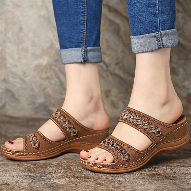 Women's Fashion Soft Wedge Heel Sandals