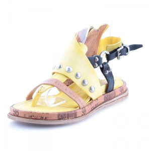 Women's Artificial Leather Flat Sandals