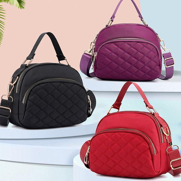 Nylon Multi-pocket Linge Crossbody Bag Casual Handbag