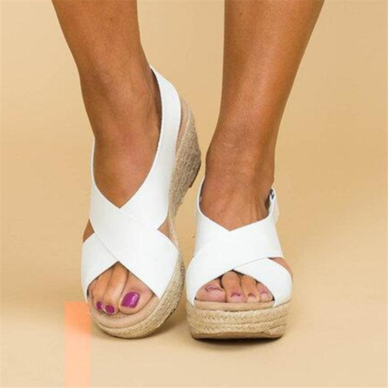 Women's Large Size Light Bottom Sandals