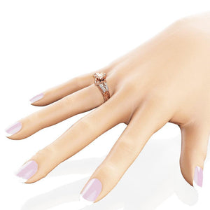 Women's Classical Design Crystal Rings