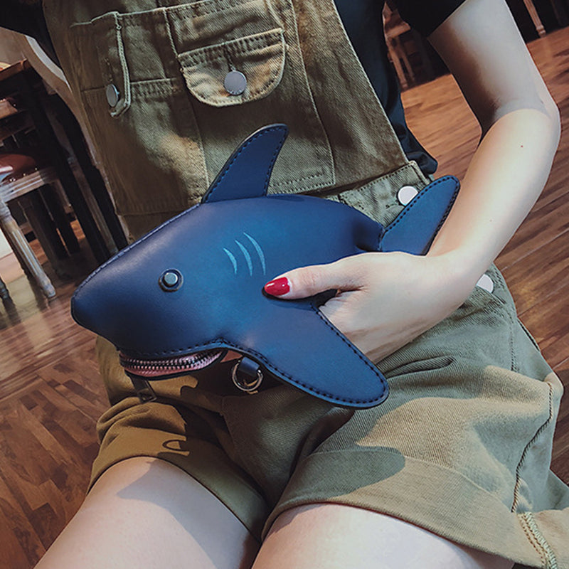 Cute Shark Crossbody Bags For Women