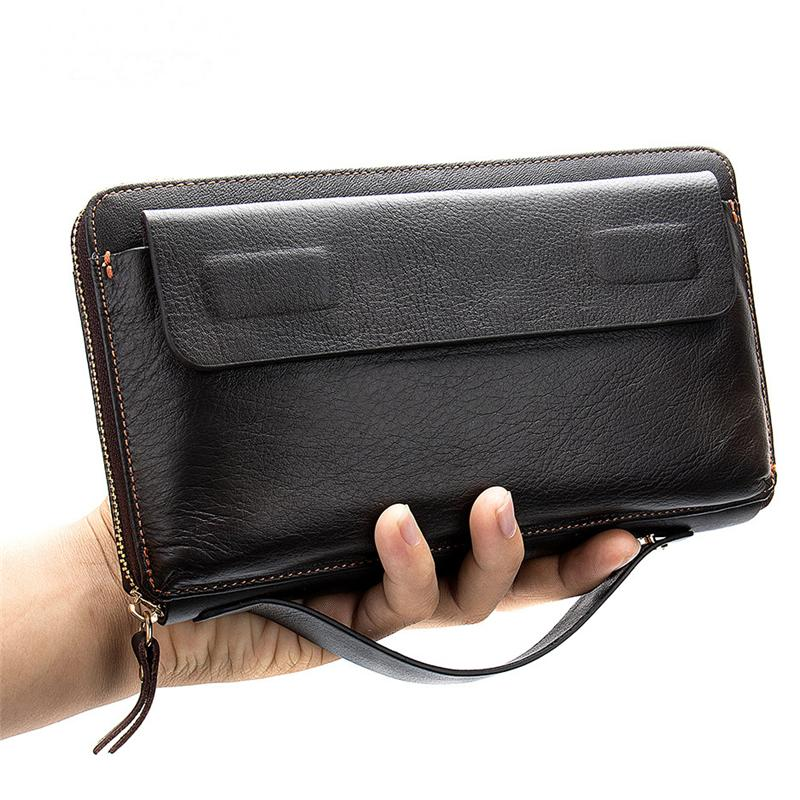 Men's Multifunctional Large-Capacity Business Wallet