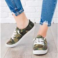 Canvas Camouflage Casual Shoes
