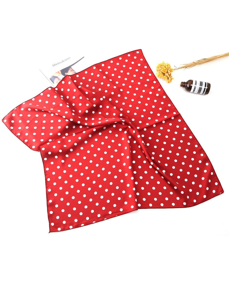 1950s Square Polka Dot Headbands