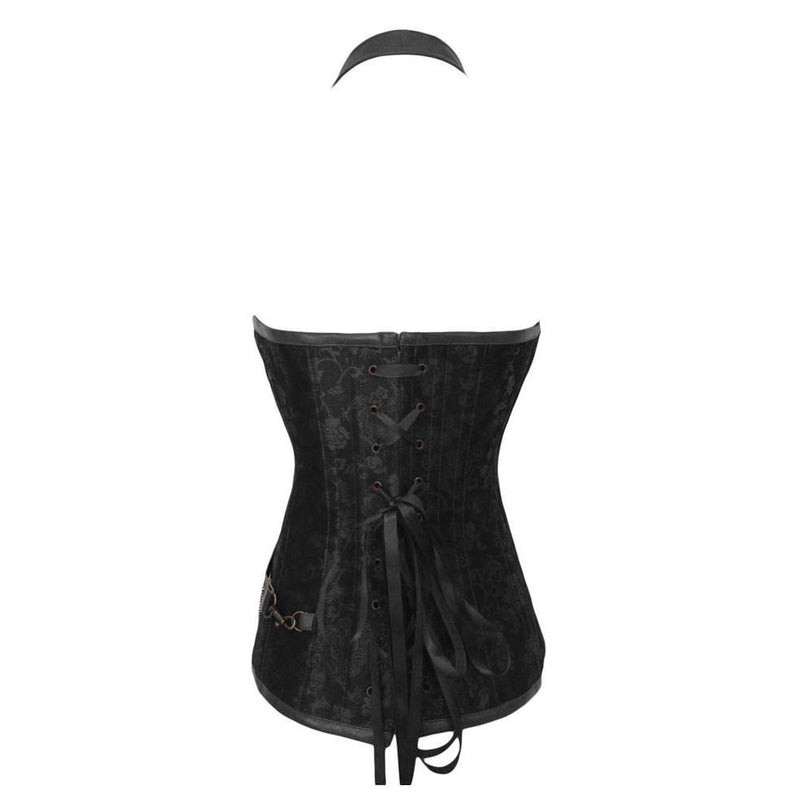 Women's Cool Punk Style Sexy Halter Corset