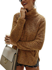 Autumn/Winter New In Fashion Turtleneck Outerwear For Women