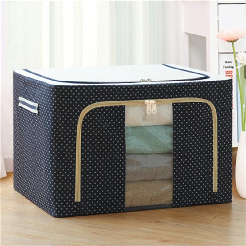 High Quality Moistureproof Foldable Oxford Fold Storage Bag With Front Window