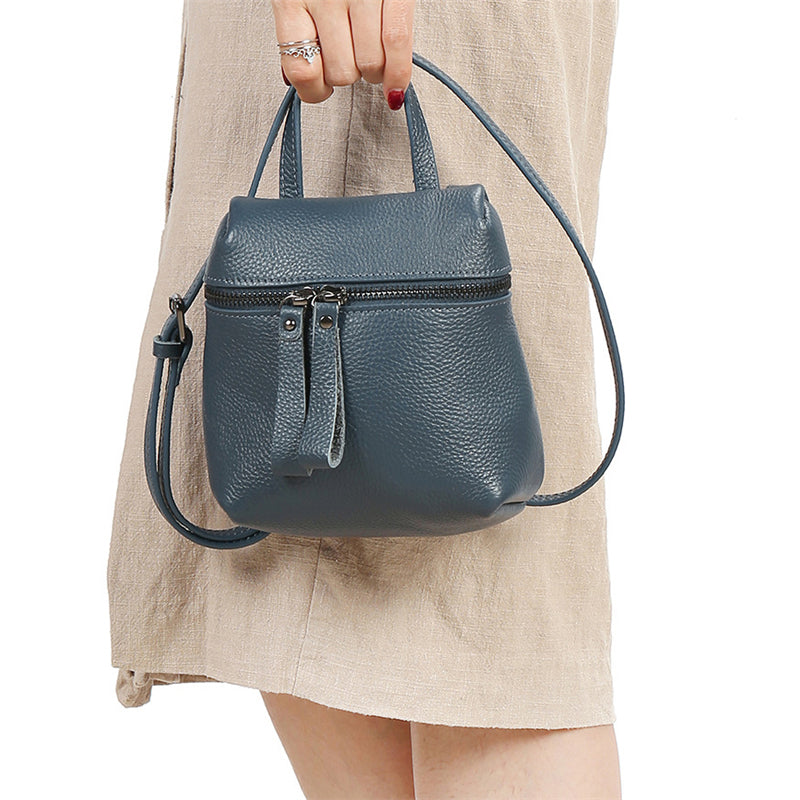 Women's Minimalist Solid Color Crossbody Bags