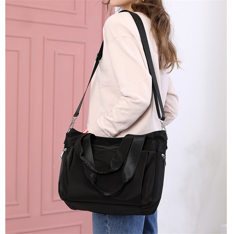 Fashion Lightweight Large Capacity Zipper Crossbody Shoulder Bag