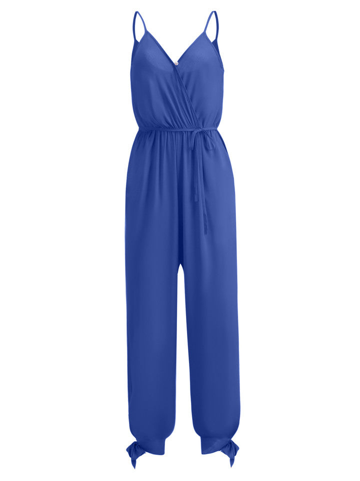 Women's Casual Sleeveless Jumpsuits