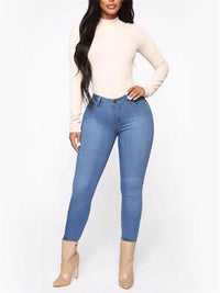 Women's High Stretch Denim Pants